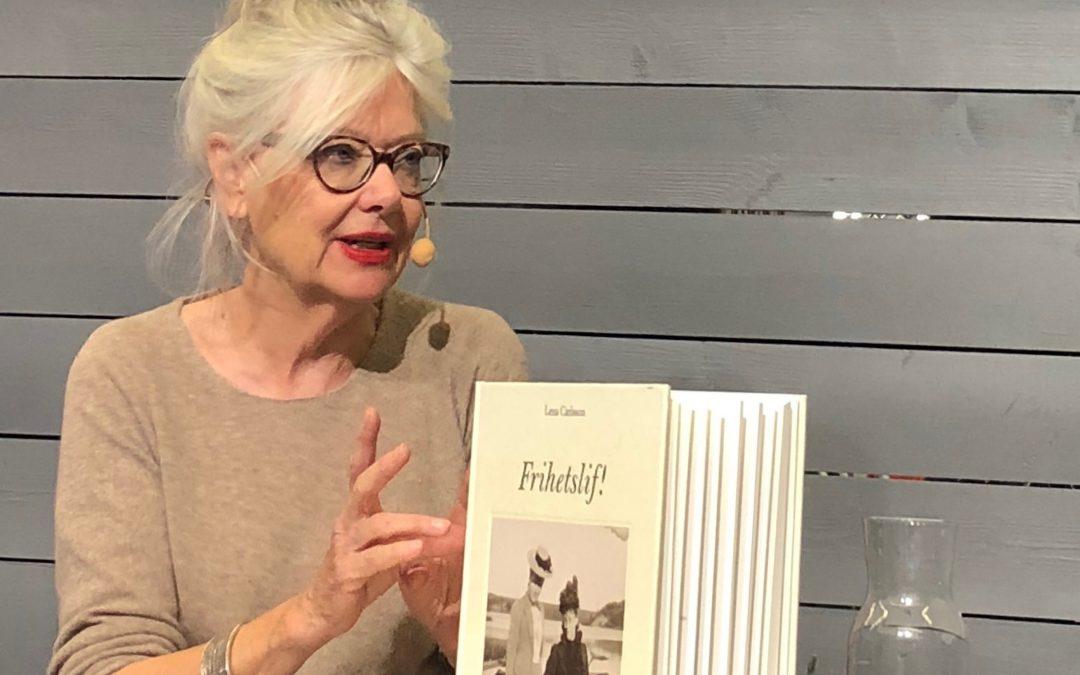 Region Värmlands litteraturstipendium till Lena Carlsson för Frihetslif!