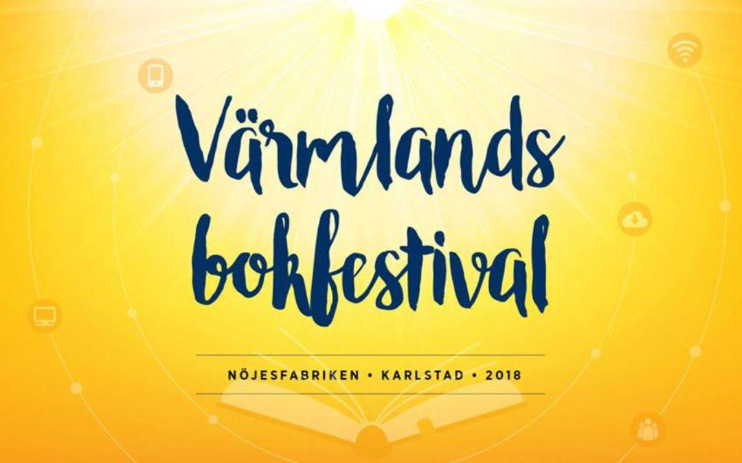 Möt oss på Värmlands bokfestival 2018