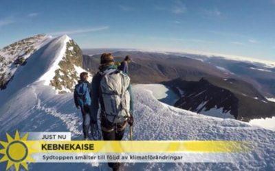 """Kebnekaises farliga topp lockar oerfarna turister: """"Skakiga ben och höjdrädsla"""""""