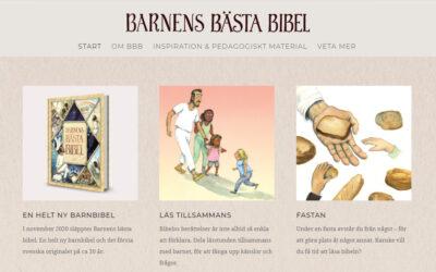 Ny hemsida – Barnens Bästa Bibel