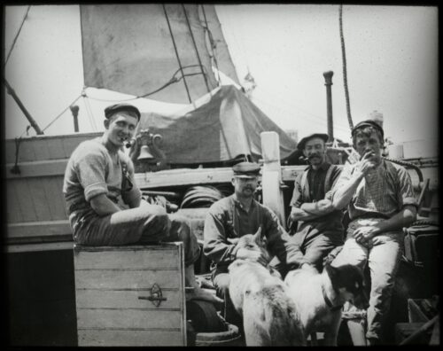 Otto Nordensköld Delar av Antarctics besättning.